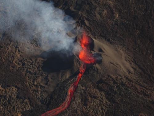 Volcan Eruption